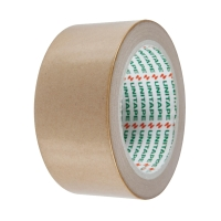 UNITAPE ADHESIVE TAPE KRAFT PAPER SIZE 2 INCH X 25 YARDS CORE 3INCH BROWN