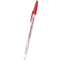 LANCERปากกาลูกลื่น SPIRAL 825ด้ามปลอก0.5มม. แดง