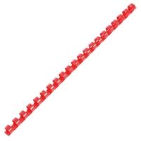 IBICO สันห่วงพลาสติก 12 มิลลิเมตร 90 แผ่น แดง 10 อัน