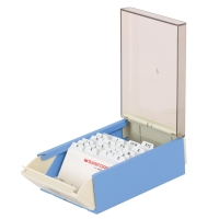 EAGLE กล่องใส่นามบัตร818S 400 ใบฟ้า