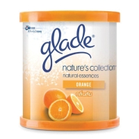 GLADE GEL AIR REFRESHER NATURE COLLECTION ORANGE 70 GRAMS