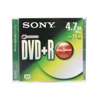 SONY DVD+R 120 MIN 4.7GB 16X JEWEL CASE