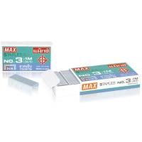 MAX ลวดเย็บกระดาษ3-1M(24/6)1000 ลวด/กล่อง