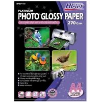HI-JET กระดาษโฟโต้อิงค์แบบเนื้อมัน A4 270 แกรม 1 แพ็ค บรรจุ 10 แผ่น