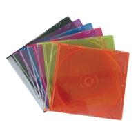 กล่องใส่ CD 1 กล่อง คละสี บรรจุ 10 แผ่น