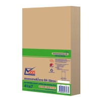 555 OPEN-END ENVELOPE BA KARFT SIZE 114MMX178MM 110GRAM BROWN - PACK OF 50