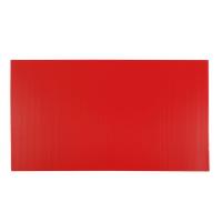 CORRUGATED PLASTIC BOARD 3 MM 65X122CM RED