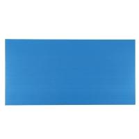 CORRUGATED PLASTIC BOARD 3 MM 65X122CM BLUE