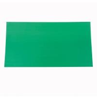 CORRUGATED PLASTIC BOARD 3 MM 65X122CM GREEN