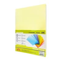 SB COLOURED COPY PAPER A4 80G - YELLOW - REAM OF 500 SHEETS
