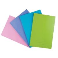 สมุดบันทึกปกอ่อน NA930 160มม. x 240มม. 60 แกรม 30 แผ่น คละสี 12 เล่ม