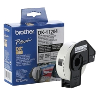 BROTHER DK-11204 MULTI PURPOSE LABELS 17MM X 54MM - ROLL OF 400 LABELS