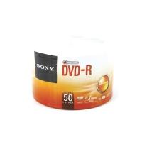 SONY แผ่น DVD-R 120 นาที 4.7 GB 16X บรรจุ 50 แผ่น