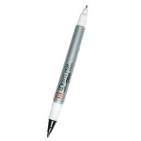 SAKURA ปากกาเคมี 2 หัว IDENTI-PEN ดำ