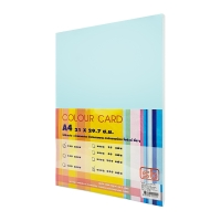 SB COLOURED CARDBOARD A4 120G - BLUE - PACK OF 250 SHEETS