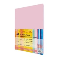 SB COLOURED CARDBOARD A4 120G - PINK - PACK OF 250 SHEETS