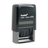 TRODAT TR4750/L1E SELF INKING STAMP  RECEIVED  ENGLISH LANGUAGE 41MMX24MM