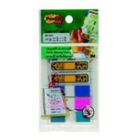 POST-IT 683-5SH SIGN HERE FLAGS 0.47   X 1.7   ASSORTED 3 COLOURS - 135 FLAGSS