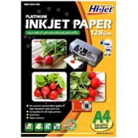 HI-JET กระดาษอิงค์เจท NM1284 A4 128 แกรม 1 แพ็ค บรรจุ 100 แผ่น