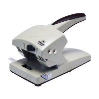 HORSE H-900 2 HOLE PAPER PUNCH GREY