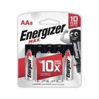 ENERGIZER ถ่านอัลคาไลน์ MAX-E91 AA 1.5 โวลต์ 8 ก้อน