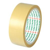 UNITAPE OPP PACKAGING TAPE SIZE 1.5 INCH X 45 YARDS CORE 3 INCH BROWN