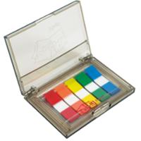 POST-IT 683-5C FLAGS DISPENSER WITH FLAGSS IN 5 COLOURS - 125 FLAGSS