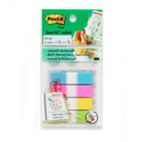 POST-IT 683-4C FLAGS 0.5   X 1.7   - 4 COLOURS - 100 FLAGSS
