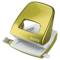 LEITZ NEXXT SERIES WOW 2-HOLE PAPER PUNCH  30 SHEETS  GREEN