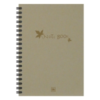 ELEPHANT E102 ECO WISE WIREBOUND NOTEBOOK A5 70G 100 SHEETS