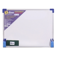 A-LINE กระดานไวท์บอร์ดชนิดมีแม่เหล็ก30 x 40ซม.