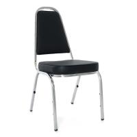 APEX เก้าอี้จัดเลี้ยง/เก้าอี้พักคอย APW-001 หนังเทียม ดำ