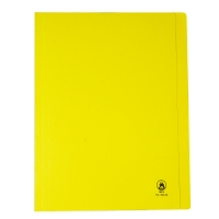 ORCA FLA550 PAPER FOLDER A4 YELLOW PACK OF 50