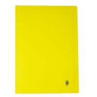 ORCA แฟ้มพับกระดาษ FLA650 F 240 แกรม เหลือง 50 เล่ม