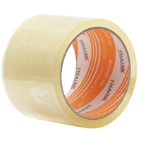 THAI KK OPP PACKAGING TAPE ACRYLIC ADHESIVE SIZE 3  X 45 YARDS CORE 3  CLEAR