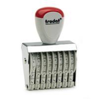 TRODAT ตรายางตัวเลข รุ่นTR-1548 ตัวเลข 8 หลัก 4 มม.