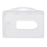 WIN PLASTIC ABS BADGE 54MM X 86MM LANDSCAPE - PACK OF 2