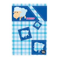 EF10 NOTEBOOK 16X23.5CM 50G 34 SHEETS PACK OF 12