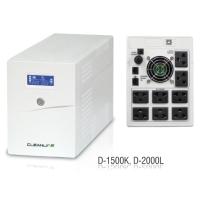 CLEANLINE เครื่องสำรองไฟ D-2000L 2000VA/1200W