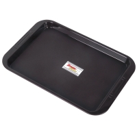 PLASTIC TRAY BROWN
