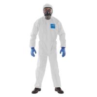 MICROGUARD ชุดป้องกันฝุ่นและสารเคมี L ขาว