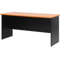 ACURA โต๊ะประชุมไม้ CF 140 เชอรี่/ดำ