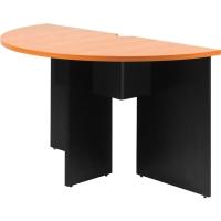 ACURA โต๊ะประชุมไม้เข้ามุม CFC 126 เชอรี่/ดำ