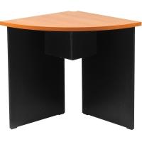 ACURA โต๊ะประชุมไม้เข้ามุม CFC 60 เชอรี่/ดำ