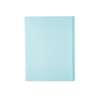 BAIPO PAPER FOLDER A4 BLUE PACK50