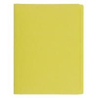 BAIPO แฟ้มพับกระดาษ เหลือง A4 แพ็ค 50