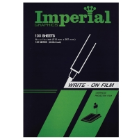 IMPERIAL TRANSPARENT FILM FOR WRITING A4 100 SHEETS