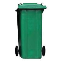 ถังขยะกทม 120ลิตร ฝาเรียบ เขียว