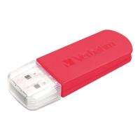 VERBATIM แฟลชไดรฟ์ 49831 8 GB แดง