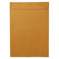 ซองเอกสารกระดาษคราฟท์น้ำตาล KA125 แกรม 12  x17   50 ซอง